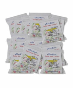 20 travel packs toilet seat covers