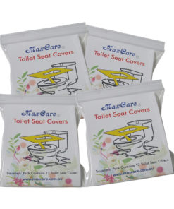 4 travel packs toilet seat covers
