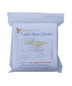 hygiene first toilet seat covers 15pcs